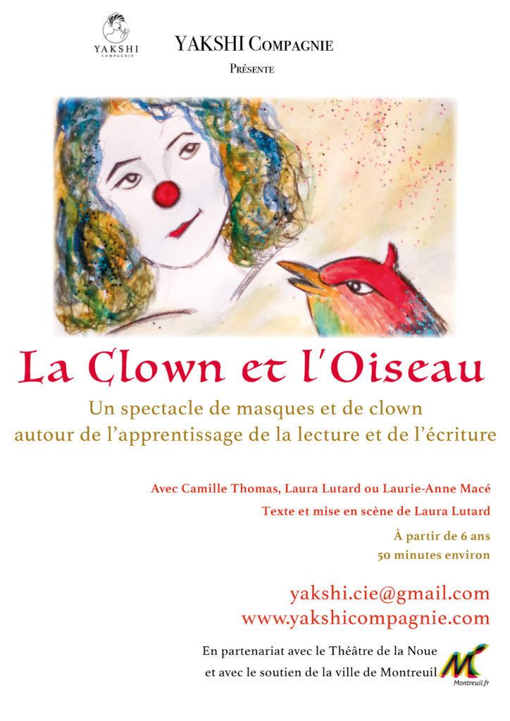 La Clown et l'Oiseau- YAKSHI Compagnie