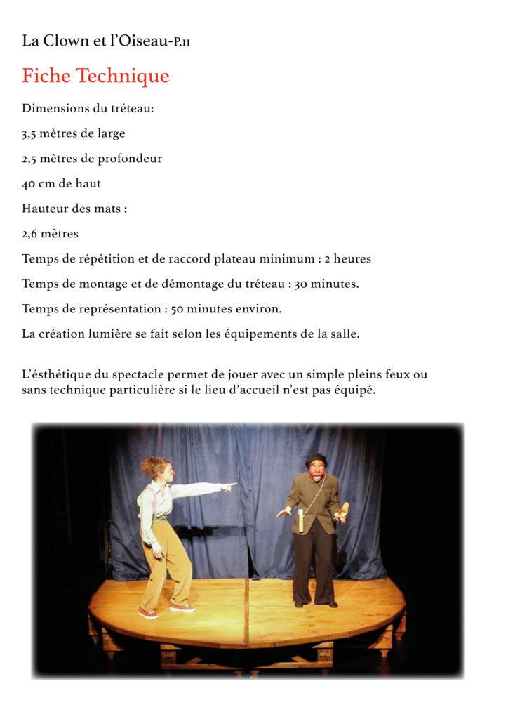 La Clown et l'Oiseau- YAKSHI Compagnie11