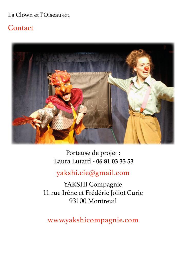 La Clown et l'Oiseau- YAKSHI Compagnie12