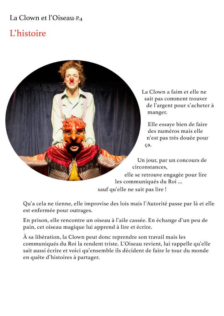 La Clown et l'Oiseau- YAKSHI Compagnie4