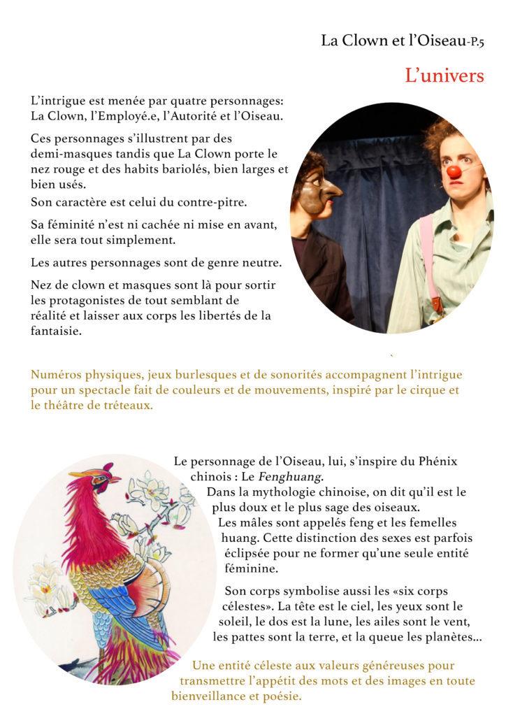 La Clown et l'Oiseau- YAKSHI Compagnie5