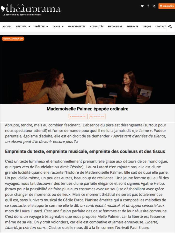 OFF 2019 presse - Théâtrorama2