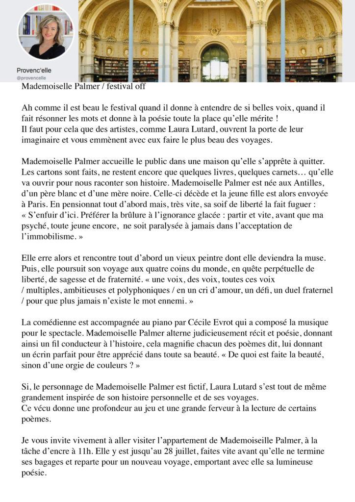 OFF 2019 presse - provenc'elle