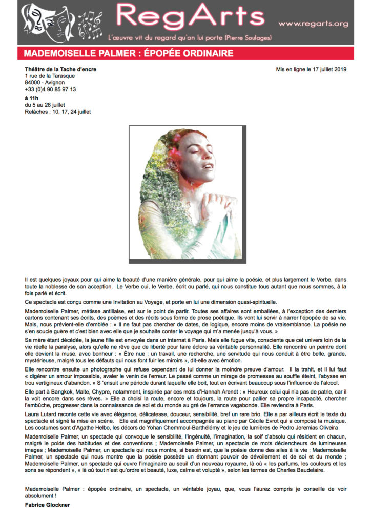 OFF 2019 presse - regarts