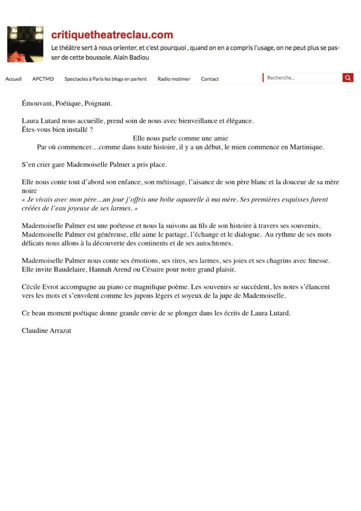 OFF 2019 presse - théatreclau