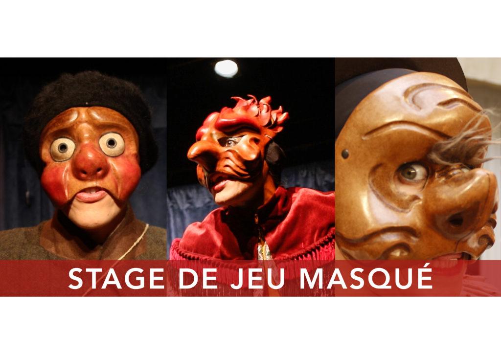 jeu masqué