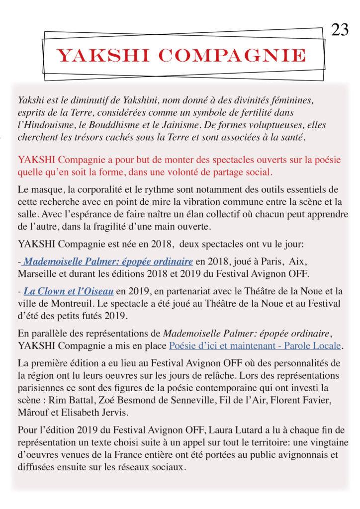 La danse - YAKSHI Compagnie23