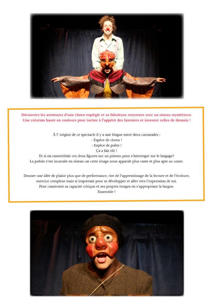 la Clown et l'Oiseau- dossier de présentation3