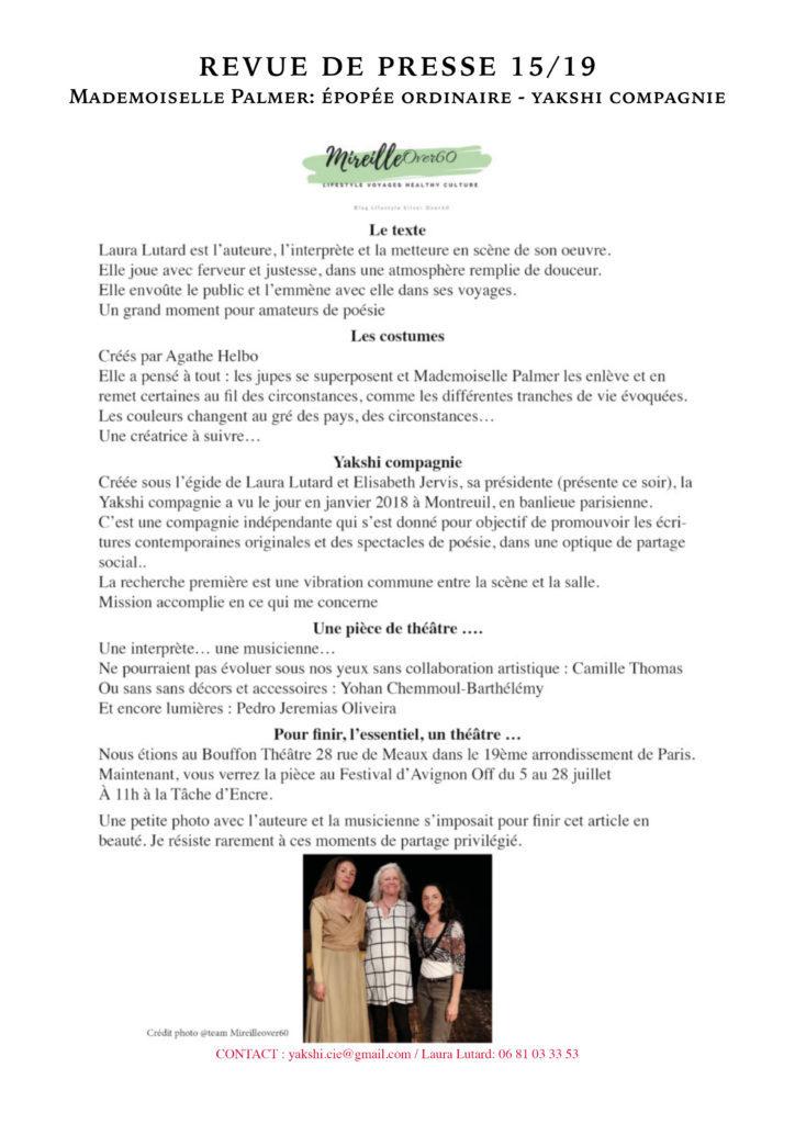 Revue de presse - MLLE PALMER- YAKSHI COMPAGNIE15