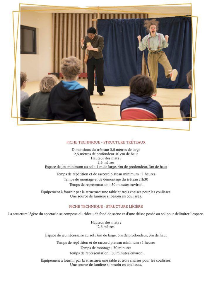 La Clown et l'Oiseau- YAKSHI Compagnie- dossier de présentation2021.7